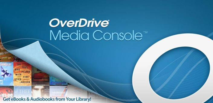 OverDrive lets you check out eBooks from the library system!