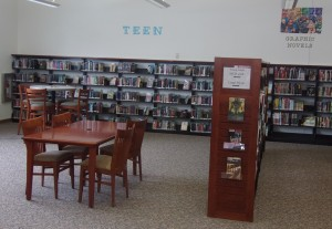 The Teen Area at the OPL offers a great place to play games, study, or hang out.