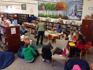 StoryTime activities after the nursery rhyme portion.