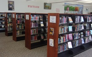 Our Fiction section is positively huge!