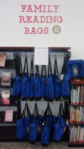 Our Family Reading Bags give a whole family an easy reading experience!