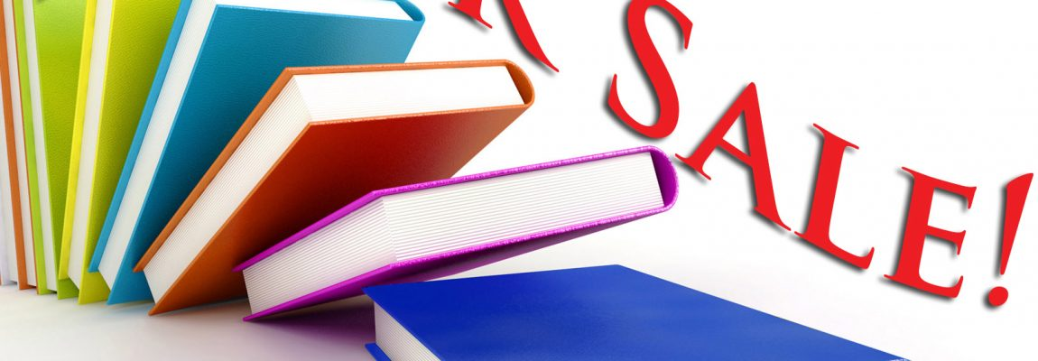 BOOK SALE ENDS TOMORROW, Thursday, August 10th!!!