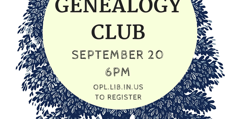 OPL Genealogy Club