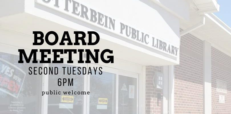 August Library Board Meeting