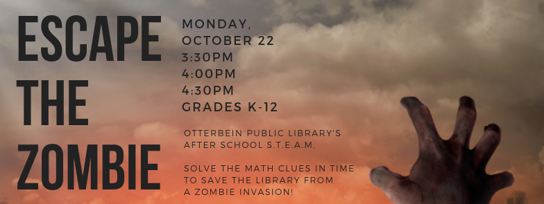 Escape the Zombie: After School STEAM
