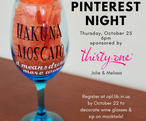 Pinterest Night Sponsored by Thirty-One