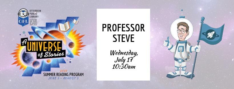 2019 SRP: Professor Steve