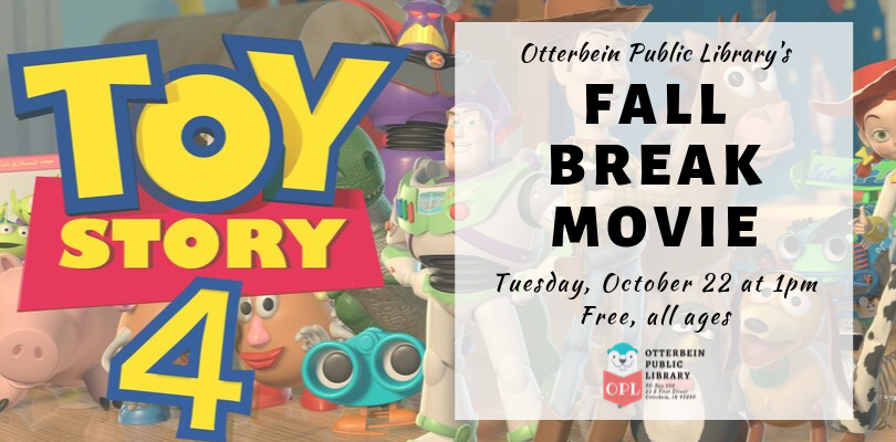 Fall Break Movie: Toy Story 4