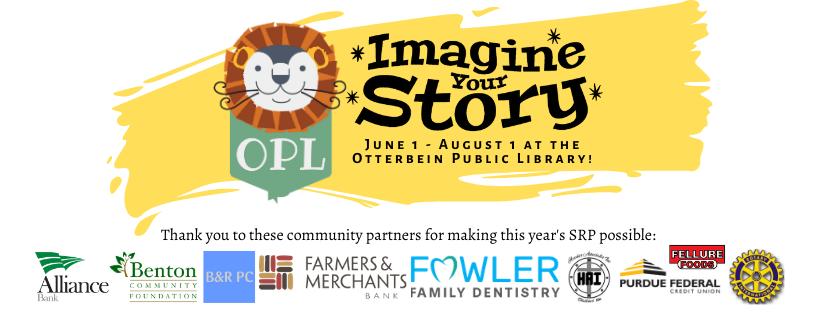 2020 Summer Reading Program: Imagine Your Story