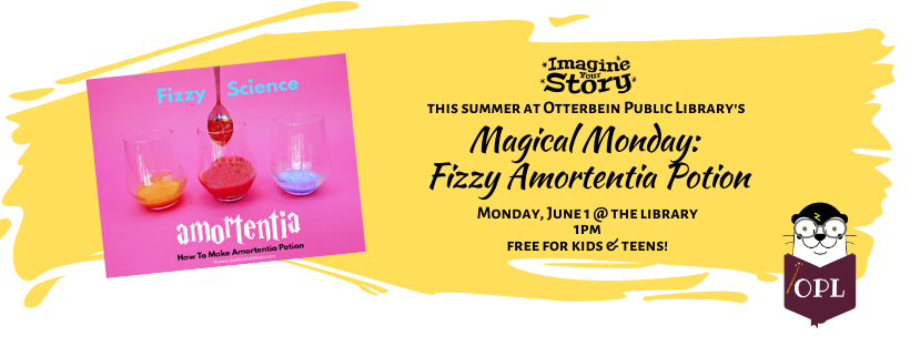 Magical Monday: Fizzy Amortentia Potion