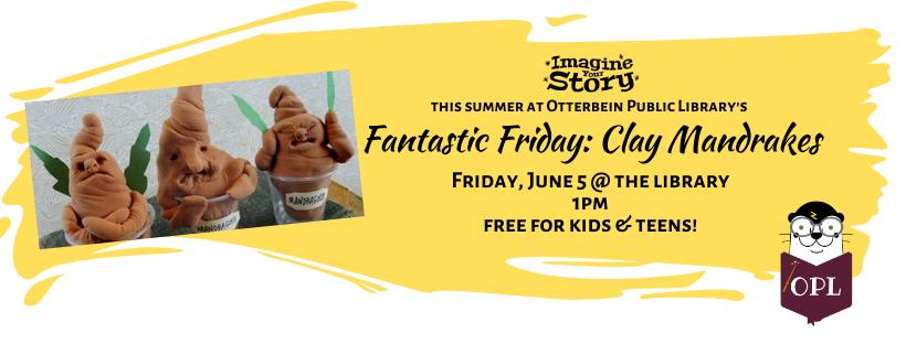 Fantastic Friday: Clay Mandrakes