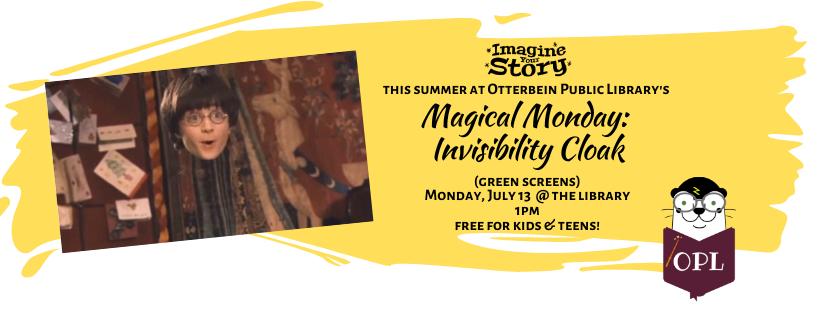 Magical Monday: Invisibility Cloak