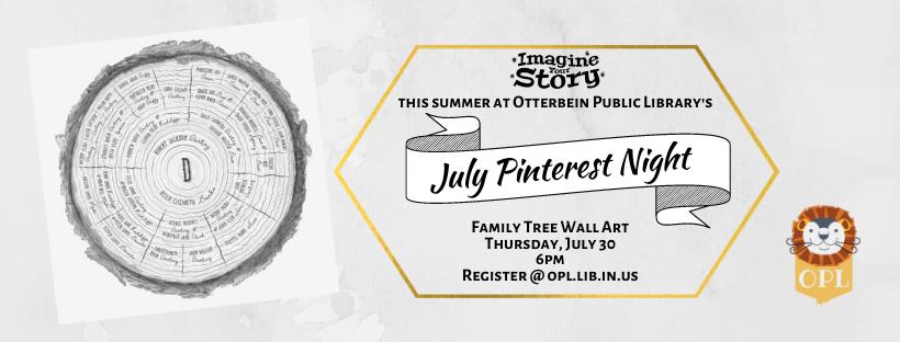 July Pinterest Night