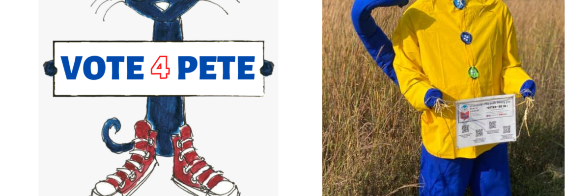 Vote for Pete the Cat!