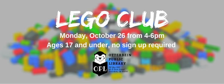 October LEGO Club