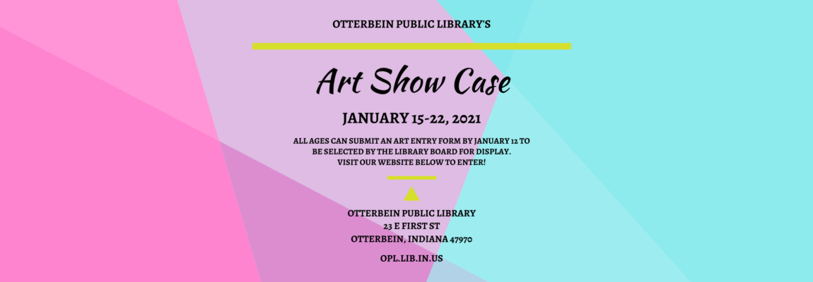 OPL's Art Show Case