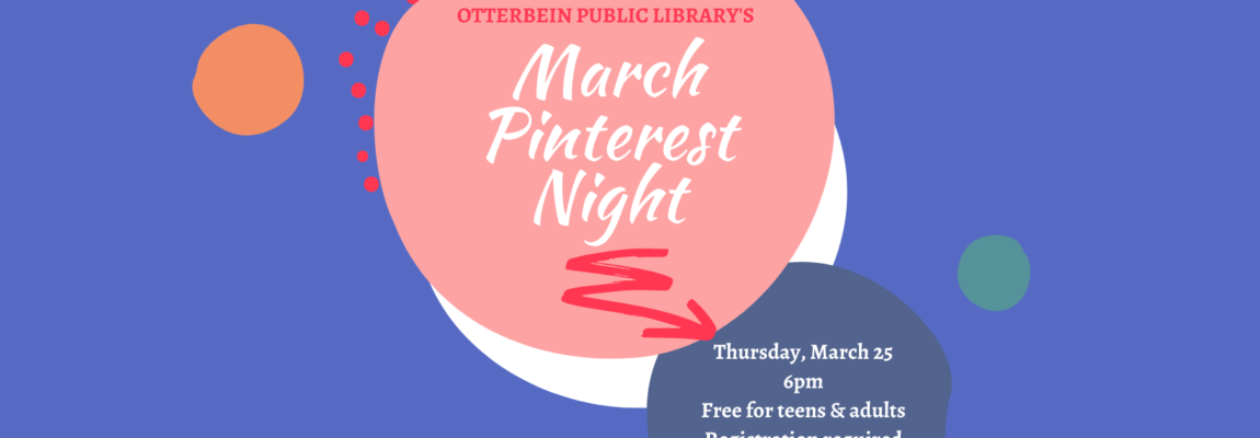 March Pinterest Night Sign Up