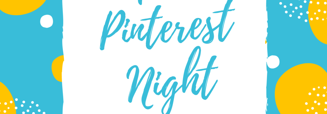 April Pinterest Night Sign Up