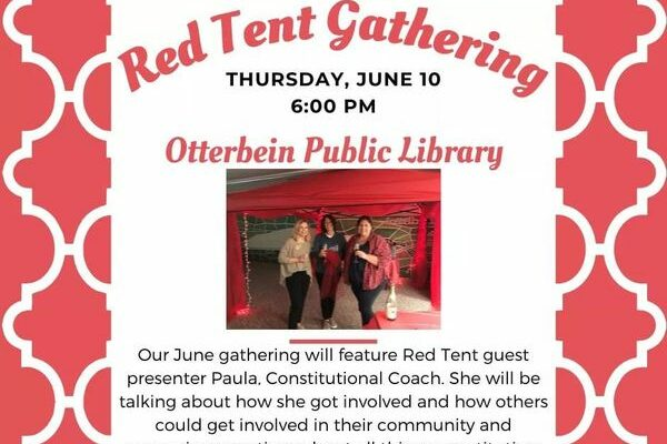 Red Tent Gathering 2nd Thursday of the Month!
