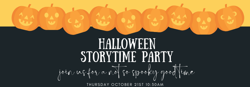 Halloween Storytime Party